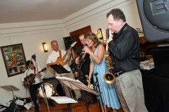 "We had a Bossa Nova band. Don't worry- we also had a DJ and yes he played ""I Gotta Feeling."""