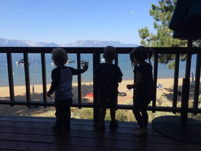 Toddlers Take Tahoe