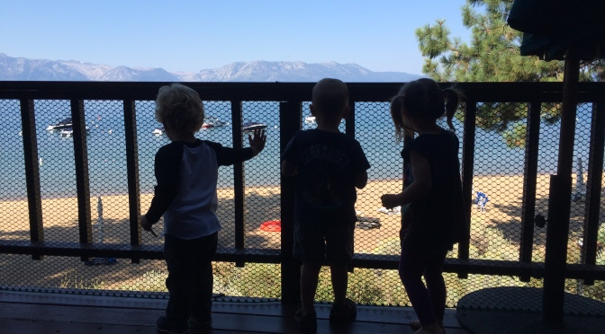 Toddlers Take Tahoe