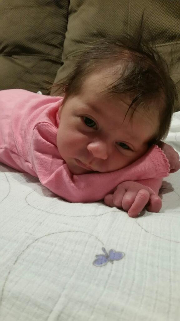 The Birth of Amelia Lee Samples